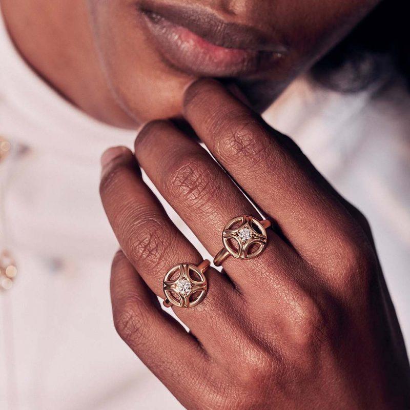 Bague or recyclé diamant synthétique homme bijoux éthiques Loyal.e Paris 2
