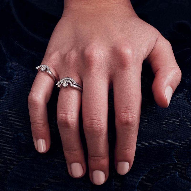 Bague or recyclé diamant synthétique femme bijoux éthiques Loyal.e Paris 22